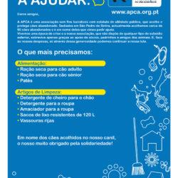 Campanha de recolha de bens no Auchan de Mem Martins – 25 Julho